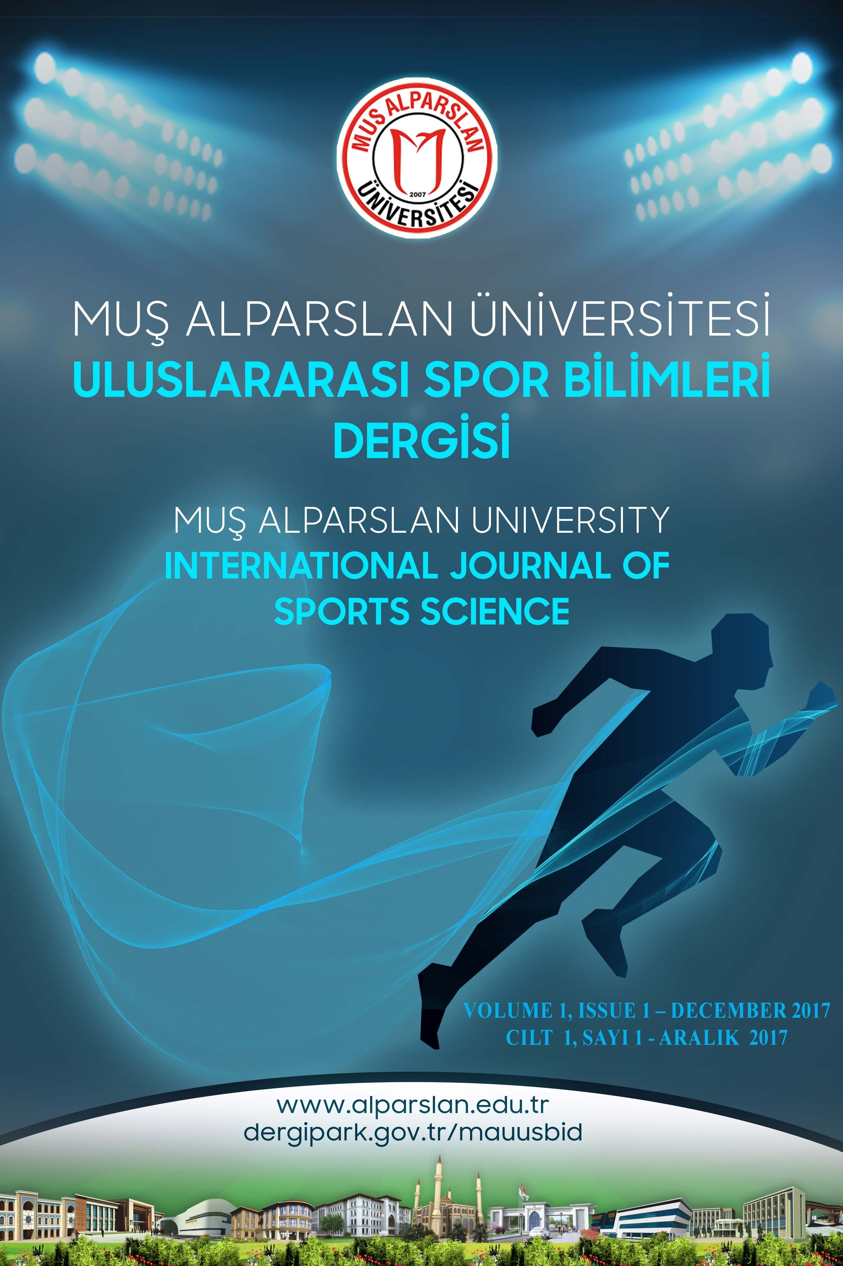 Muş Alparslan Üniversitesi Uluslararası Spor Bilimleri Dergisi