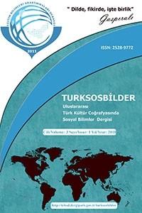 Uluslararası Türk Kültür Coğrafyasında Sosyal Bilimler Dergisi